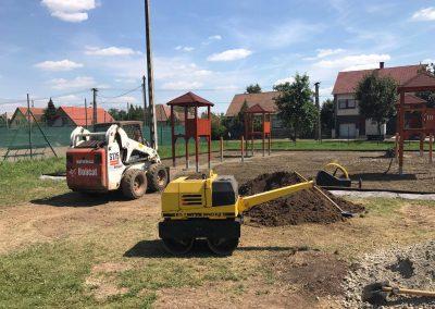 Földmunkák, mélyépítési munkák végzése, saját eszközparkkal