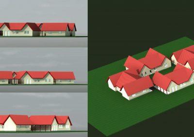 Speciális gyermekotthon tervezése, Domony